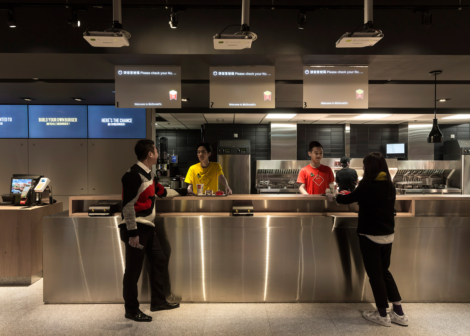 Non Design McDonald's by Landini Associates