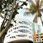 OMA's Frank Lloyd Wright-inspired Faena Forum takes shape in Miami Beach