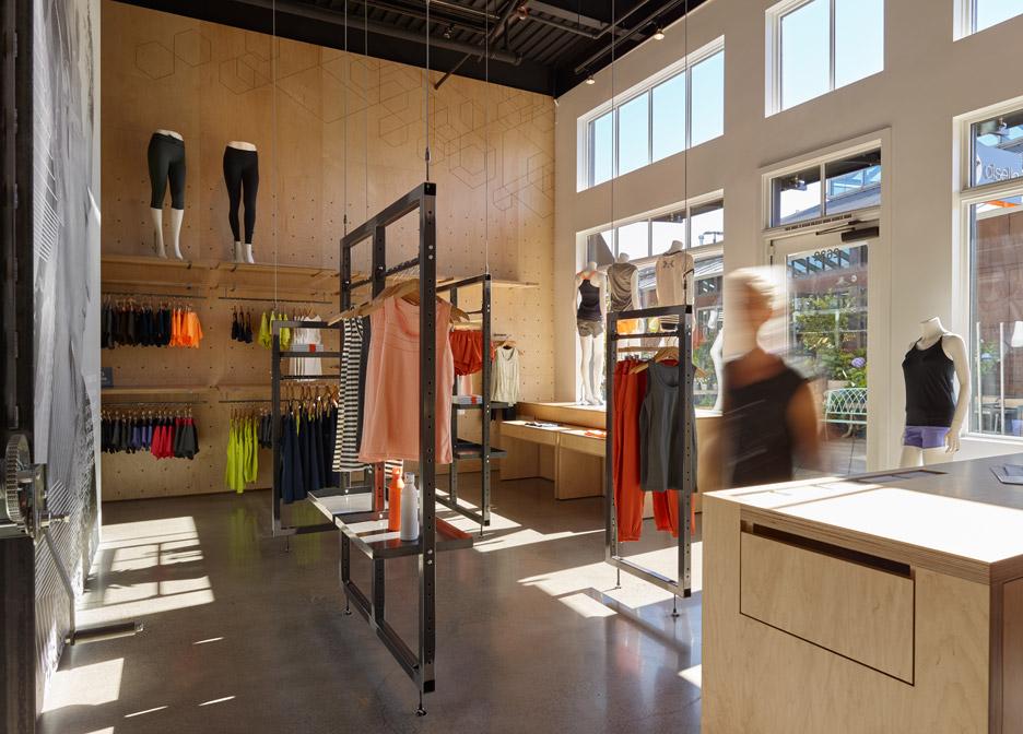 Oiselle Flagship Store by goCstudio