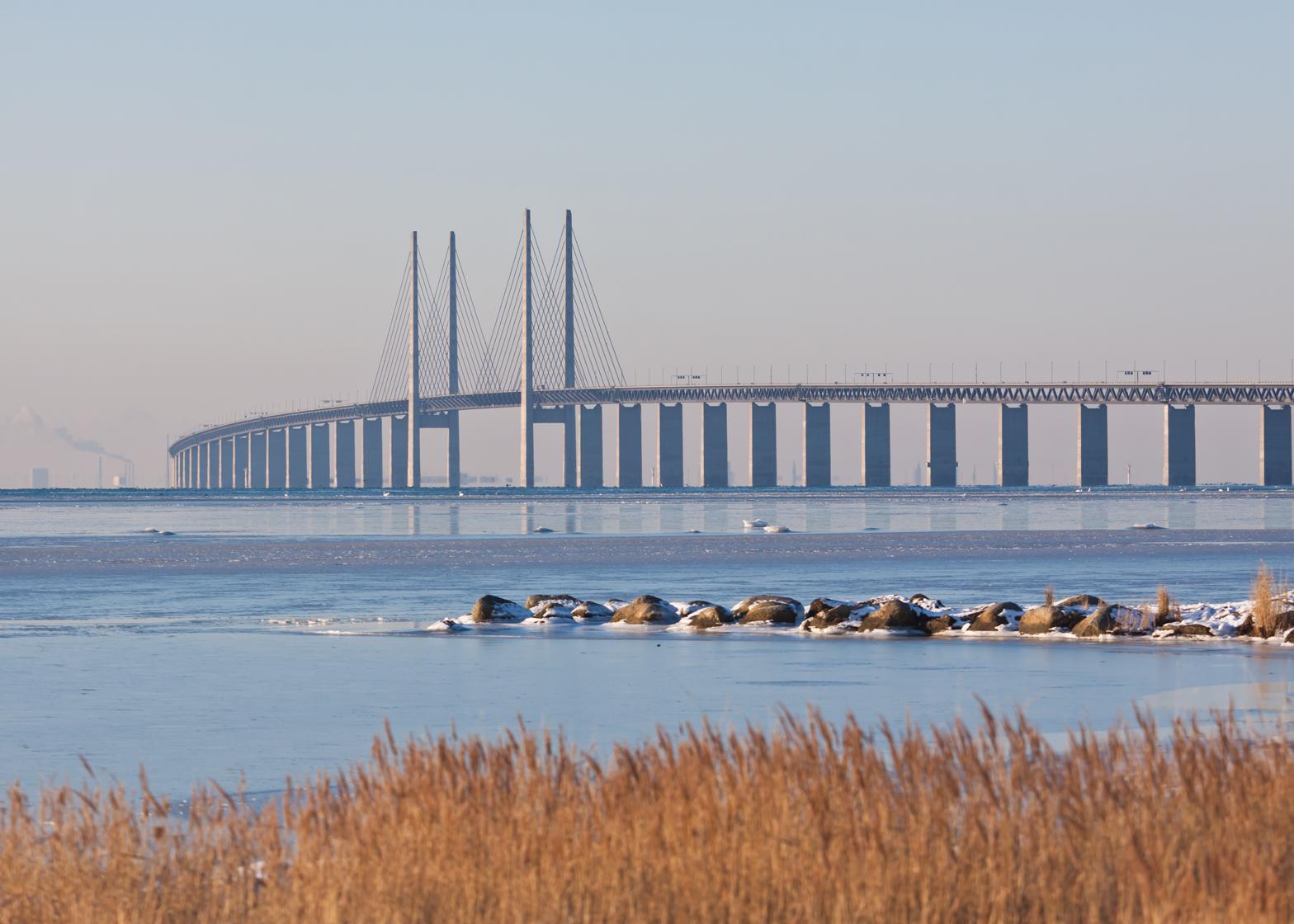 Øresund Bridge by George K.S. Rotne