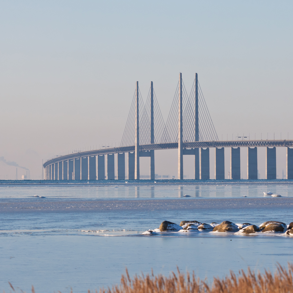 Øresund Bridge by George K.S. Rotne