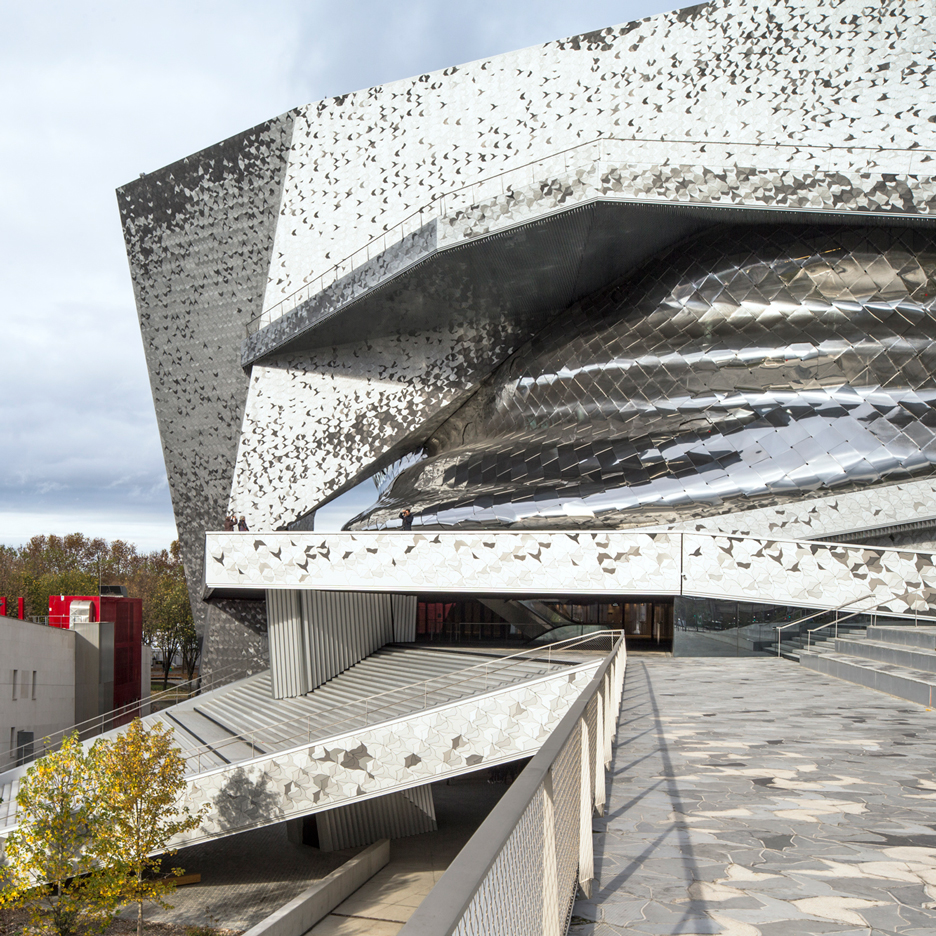 New photos offer a closer look around Jean Nouvel's Philharmonie de Paris