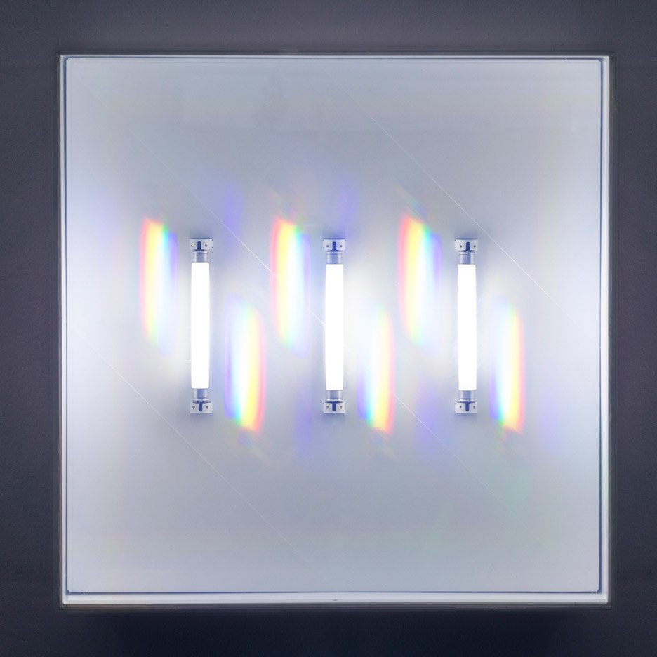 Rachel Harding's Wonderfluoro lights create rainbow-coloured visual effects