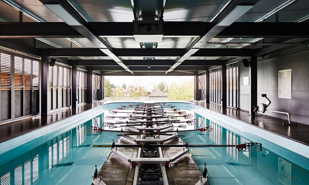 mulroy architects builds rowing centre for radley college
