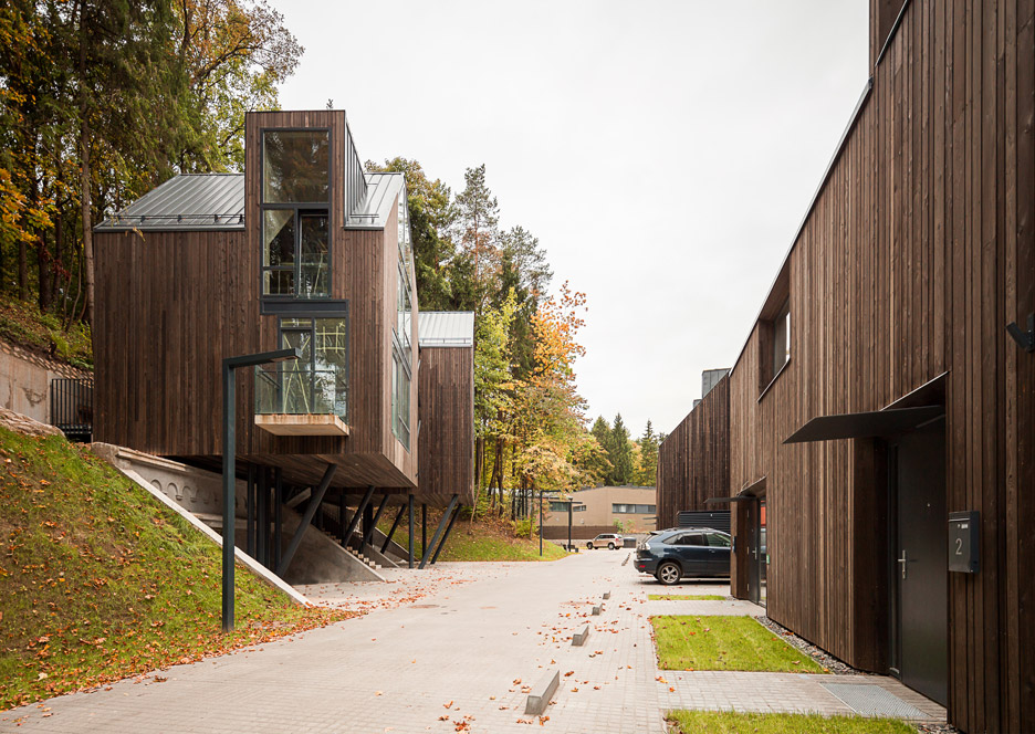 Residential quarter in Pavilniai regional park by Plazma and Paleko ARCH studija