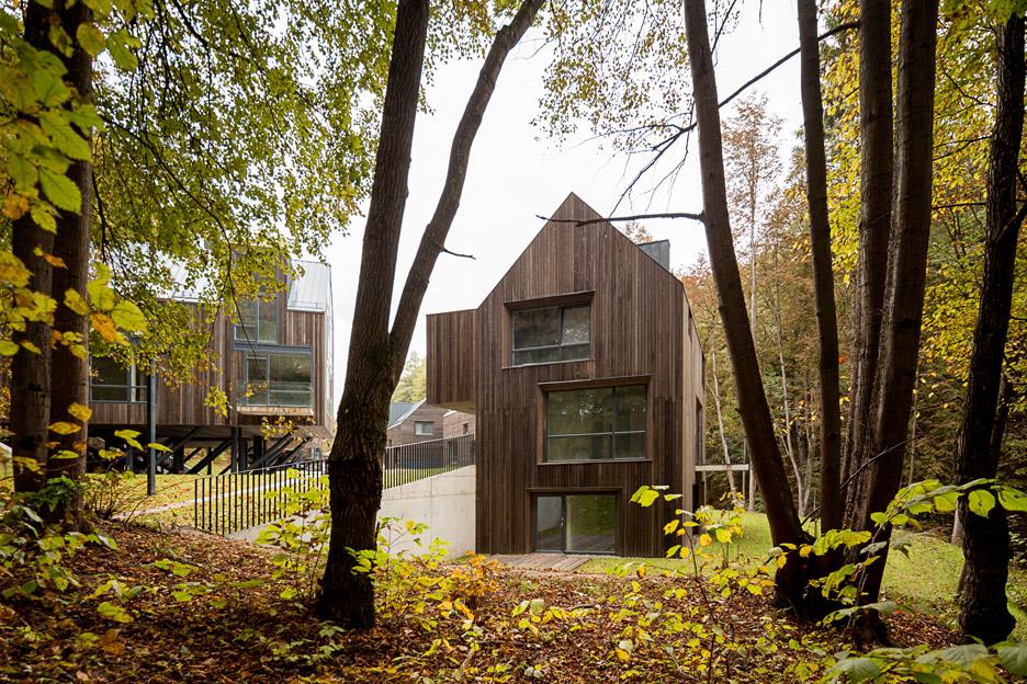 Residential quarter in Pavilniai regional park by Plazma and Paleko ARCH studija