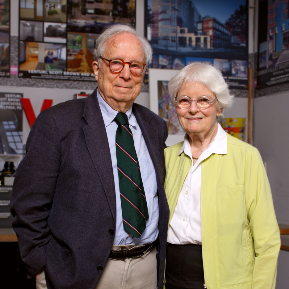 Venturi and Scott Brown to receive the 2016 AIA Gold Medal