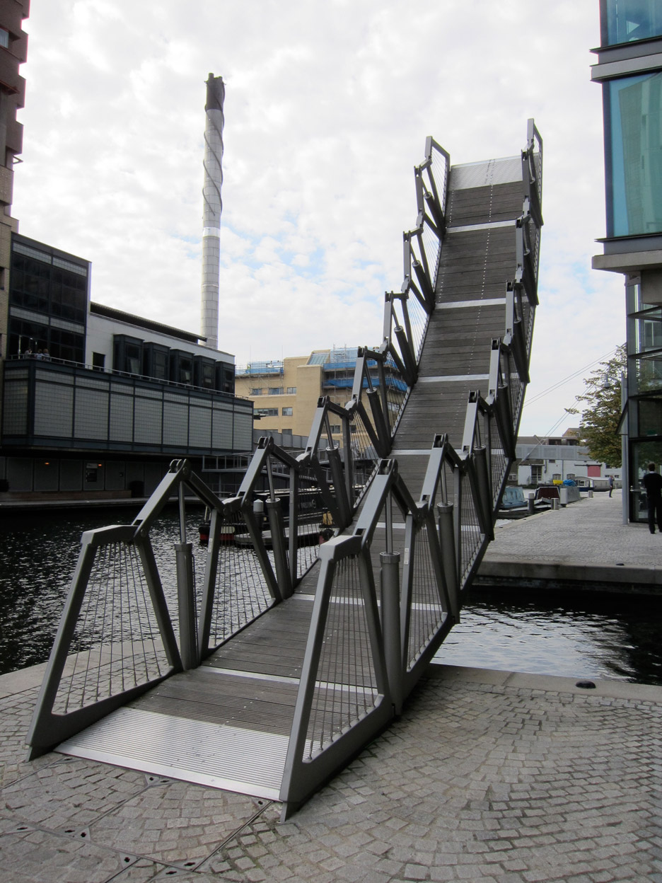 Rolling Bridge by Thomas Heatherwick