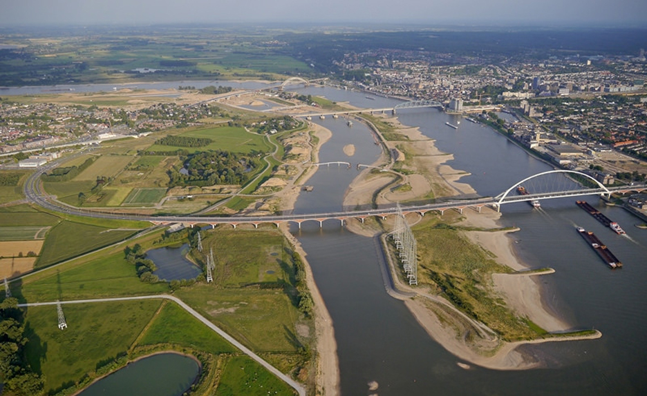 Room for the River Waal, Nijmegen