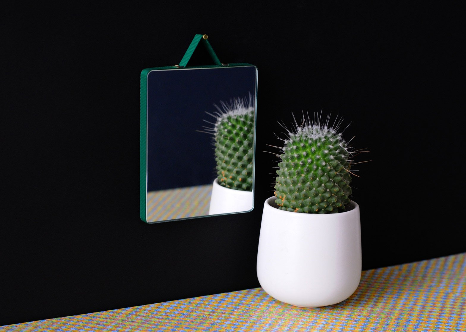Ruban mirrors for HAY by Inga Semp