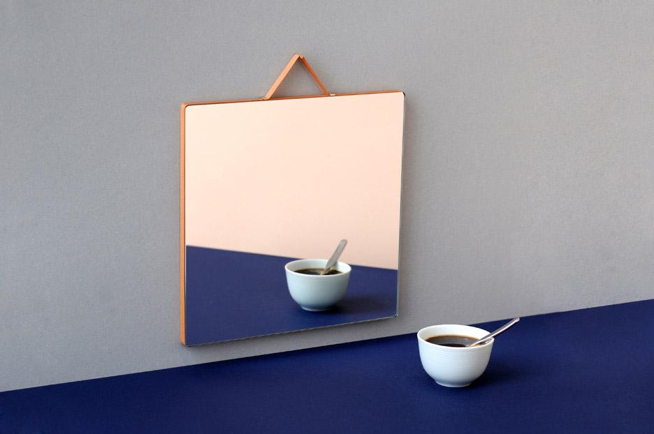 Ruban mirrors for HAY by Inga Semp