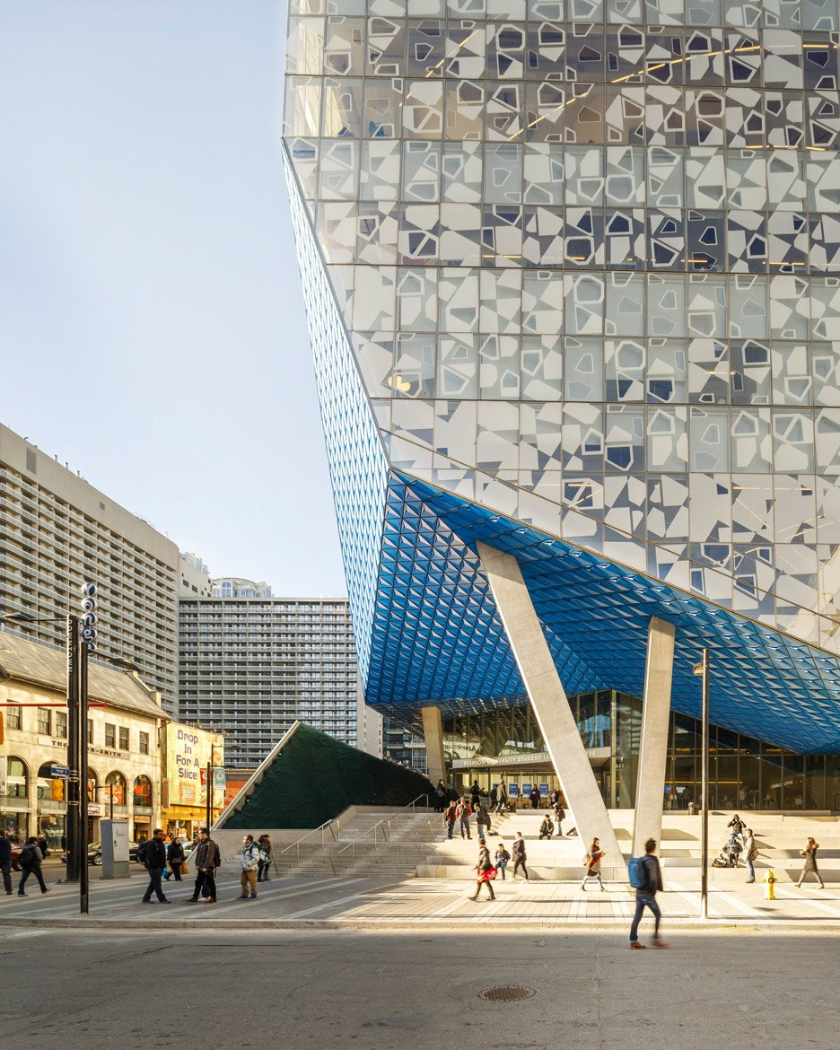 Ryerson University student centre by Snohetta