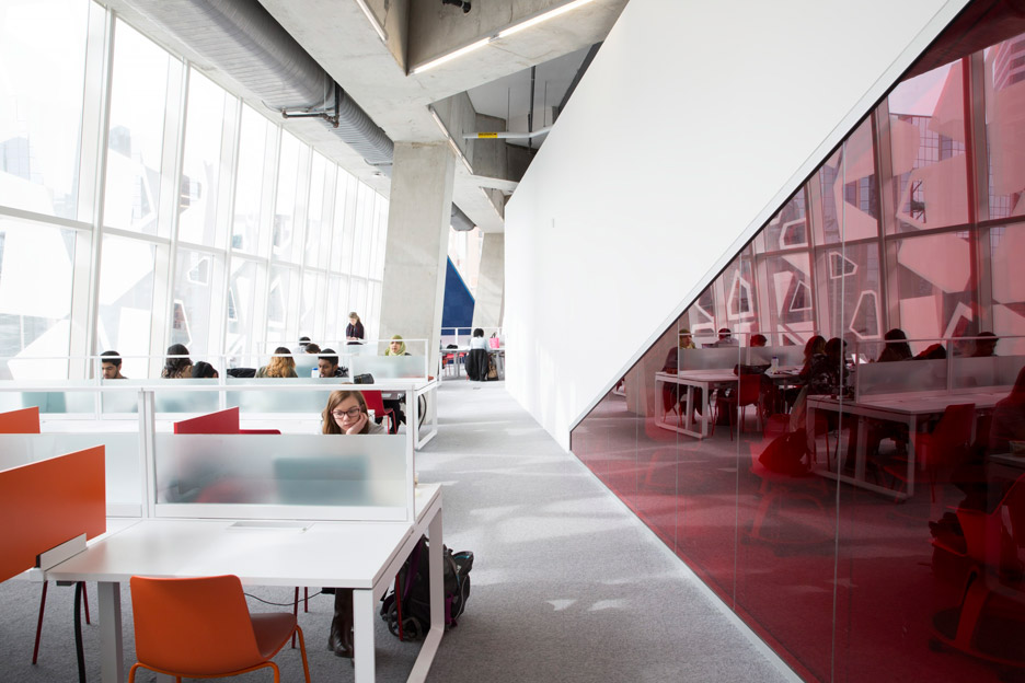 Ryerson University student centre by Snohetta