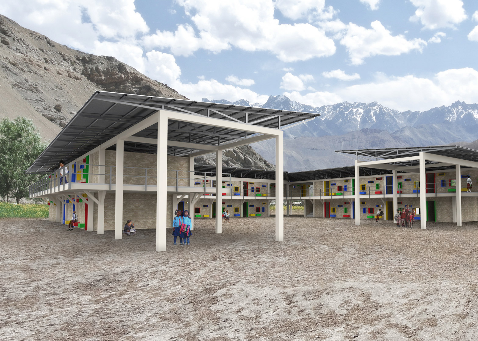 Architecture Design Kids shop designs schools for earthquake-ravaged areas of nepal