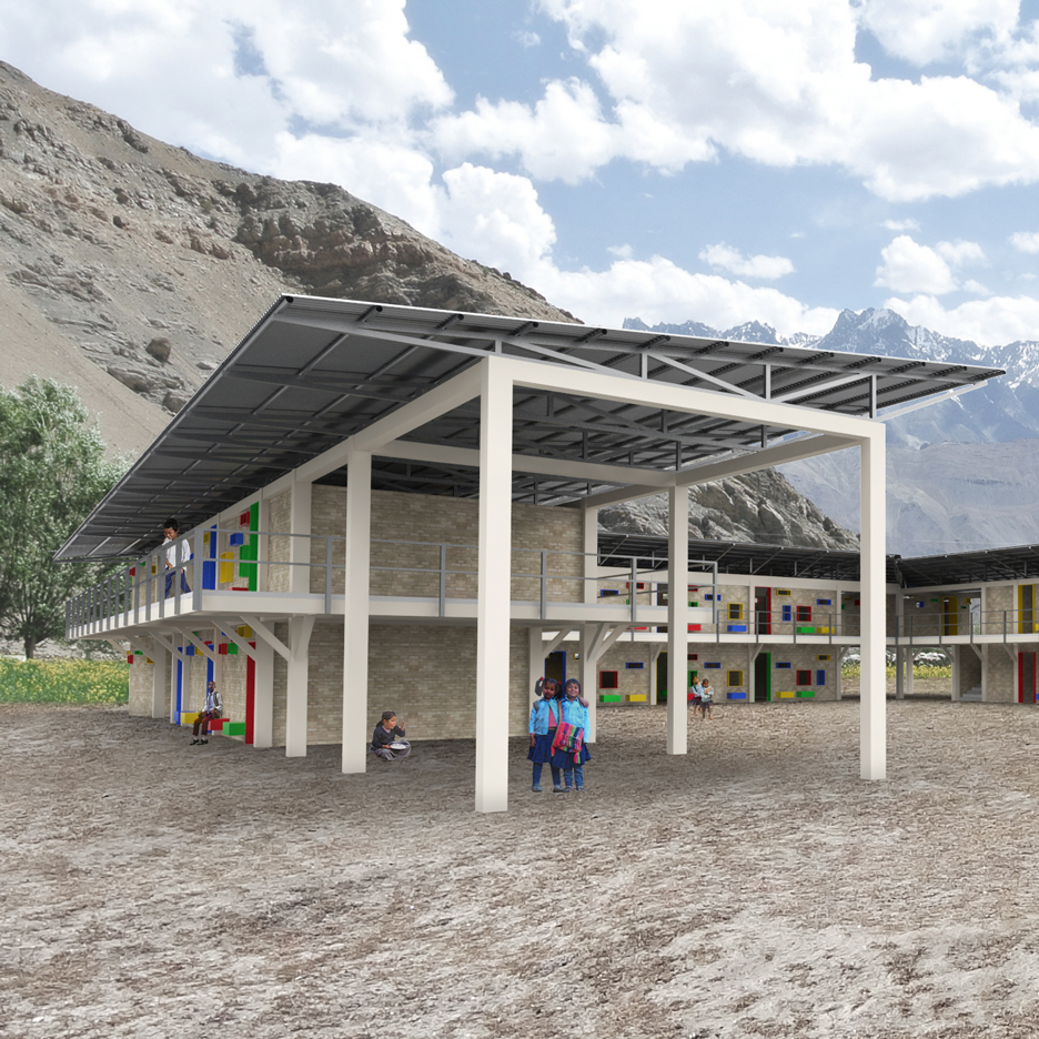 Shop designs schools for earthquake ravaged areas of nepal for Best house design nepal