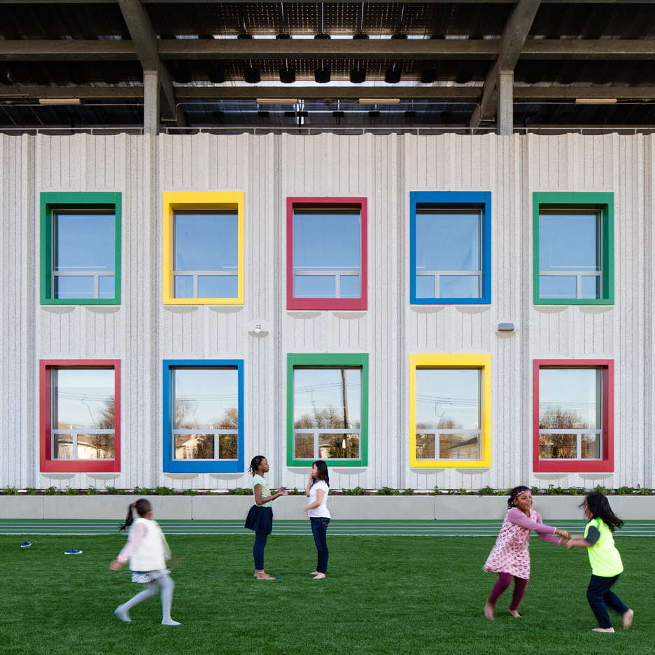 SOM designs first net-zero energy school in New York City on Staten Island