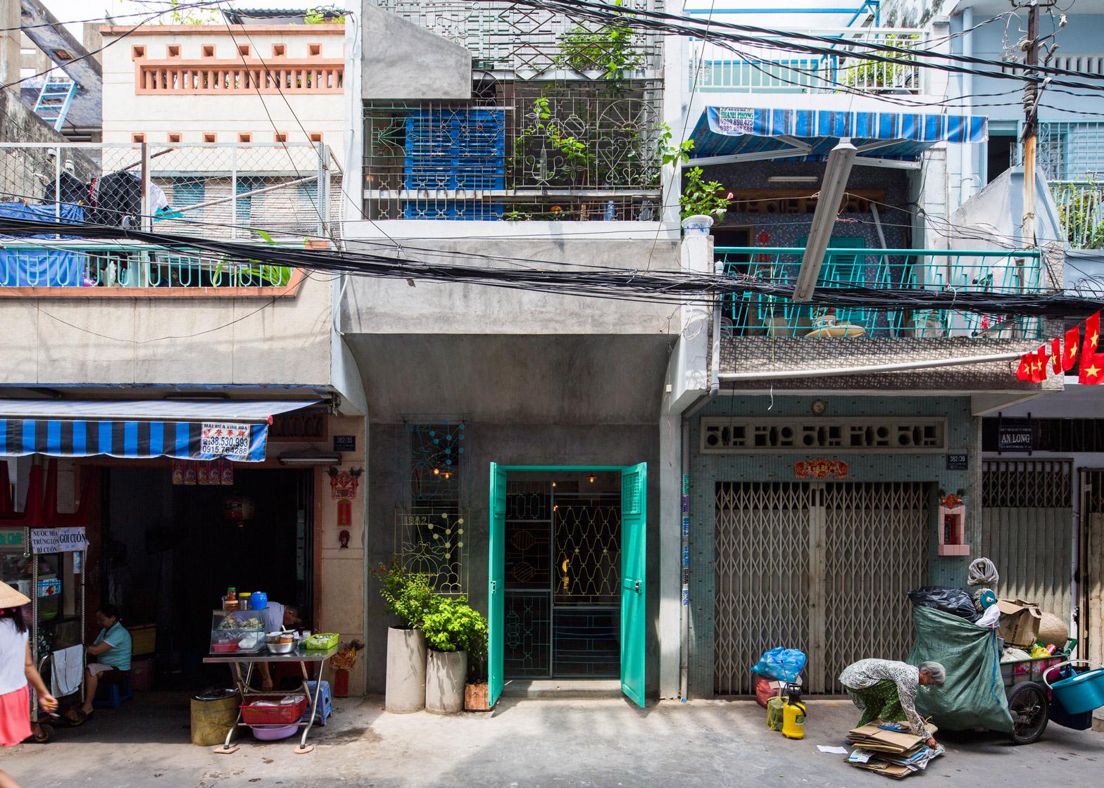 Saigon House by a21studio