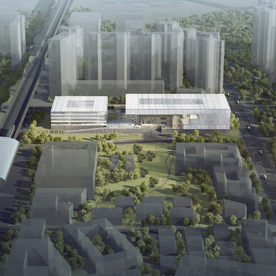 Shenzhen Art Museum and Library by KSP Jurgen Engel Architekten