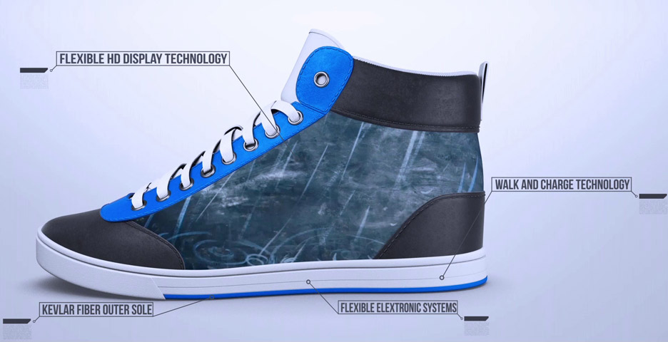 ShiftWear customisable trainers