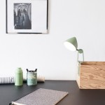 Marie Hesseldahl's Snap lamp clamps onto flat surfaces