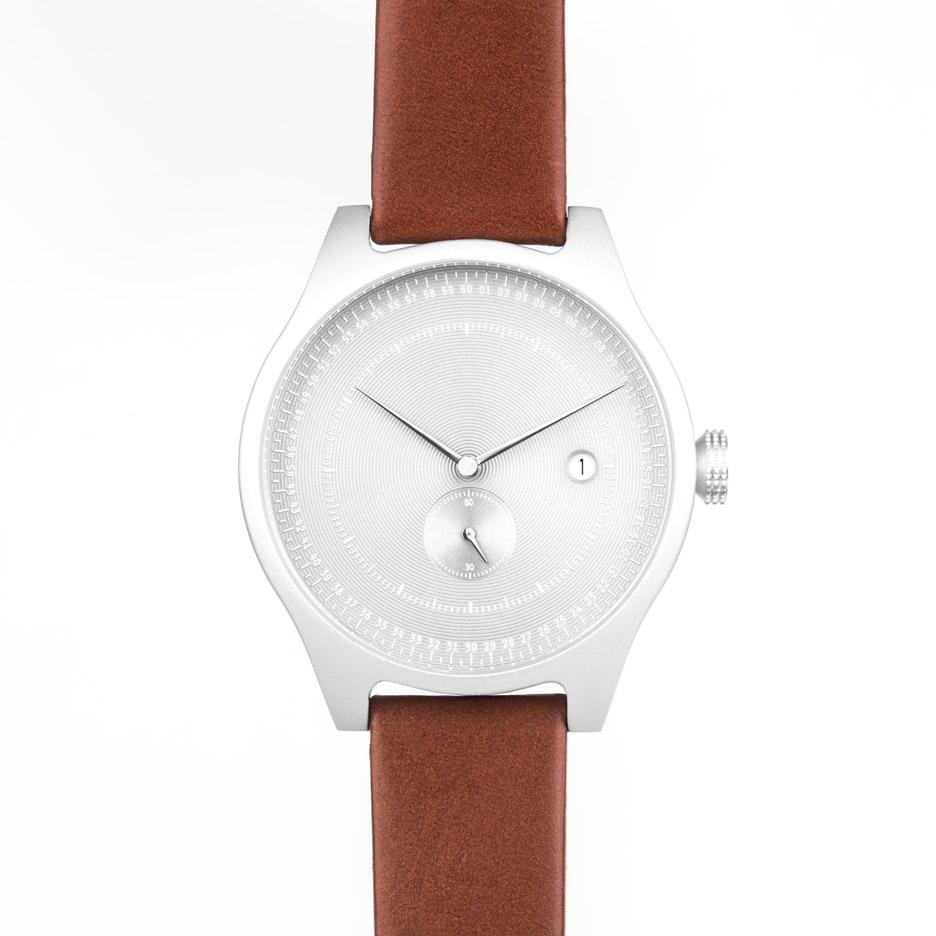 Squarestreet Aluminium watch arrives at Dezeen Watch Store