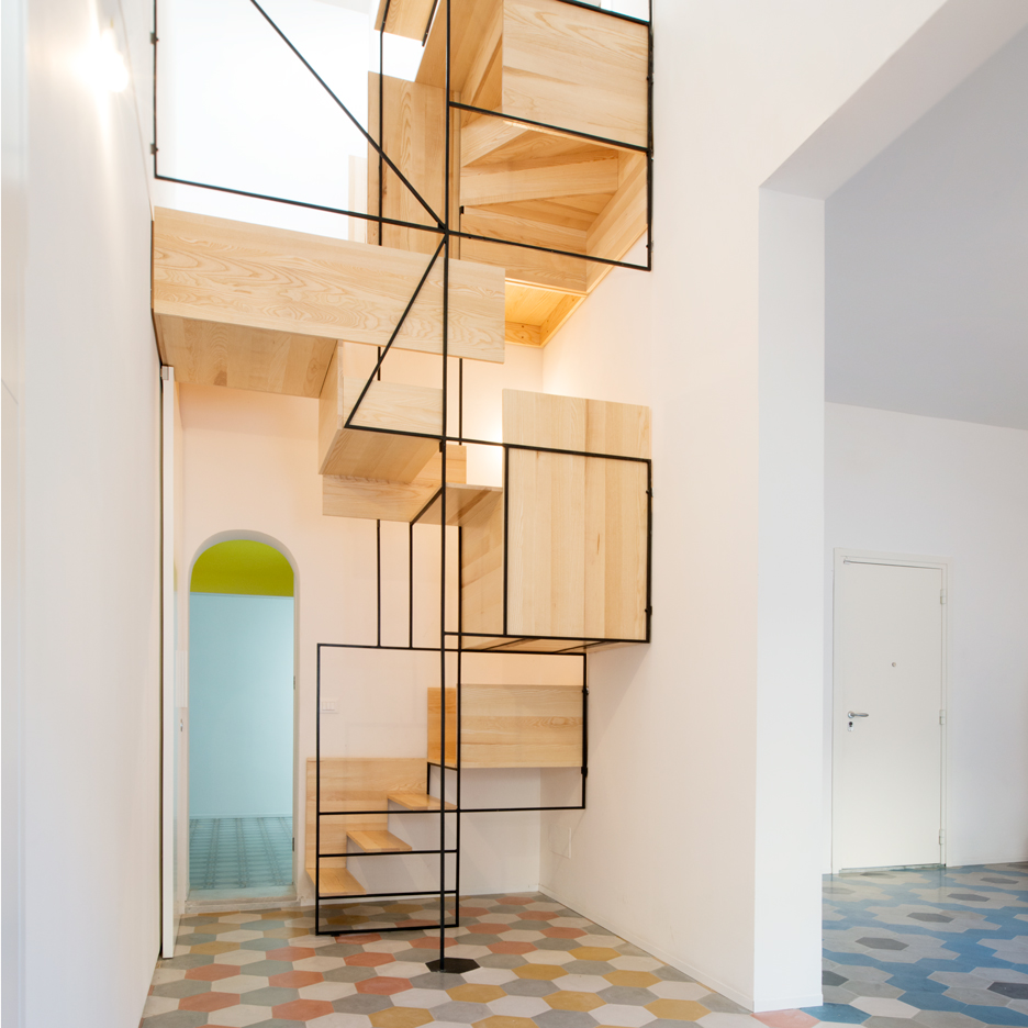 Staircase architecture  Dezeen's top 10 staircases of 2015