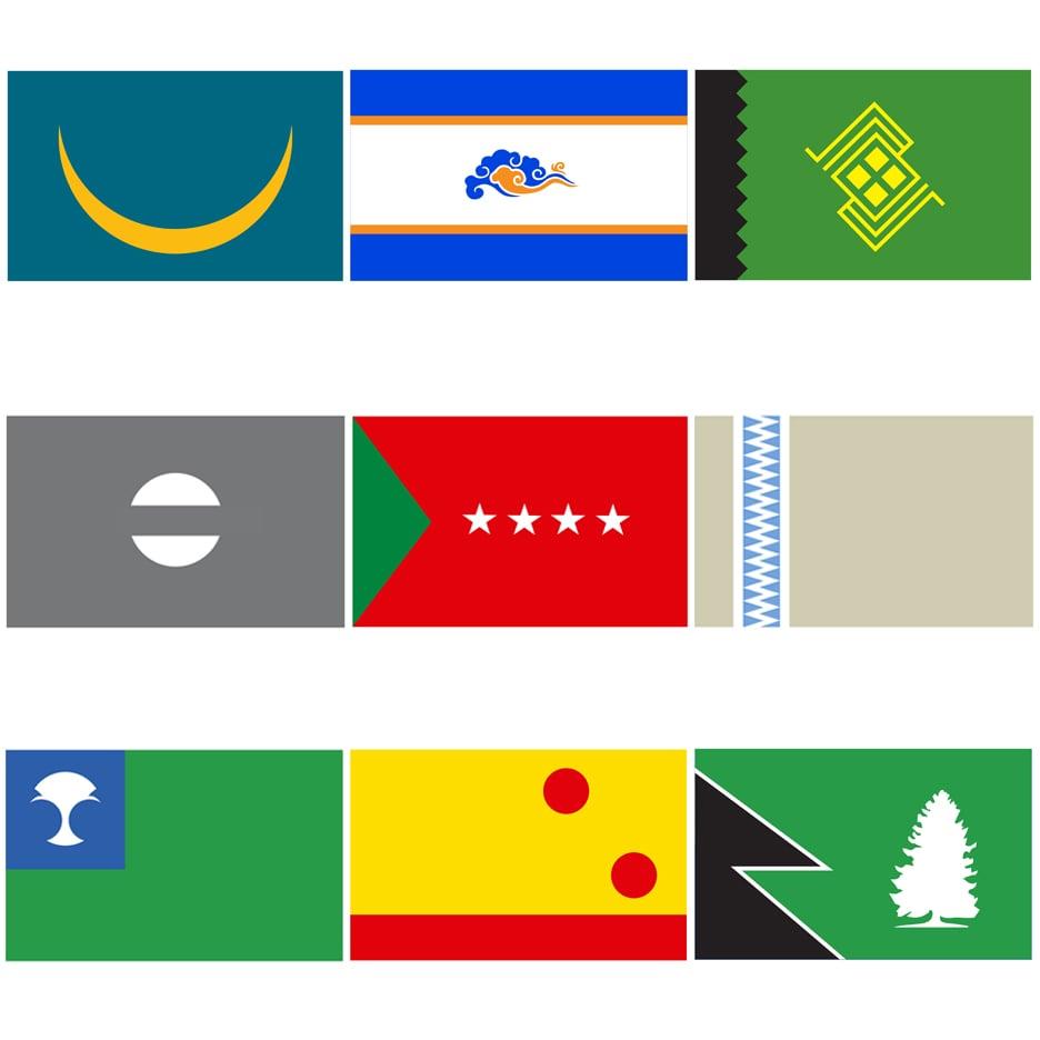 Star Wars flags by Scott Kelly