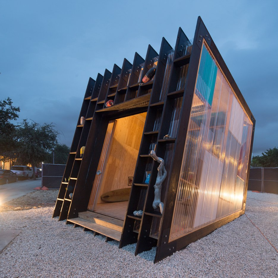 Surf shack by Yves Béhar at Design Miami 2015