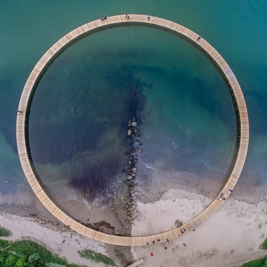 Dezeen's A-Zdvent calendar: The Infinite Bridge by Gjøde & Povlsgaard Arkitekter