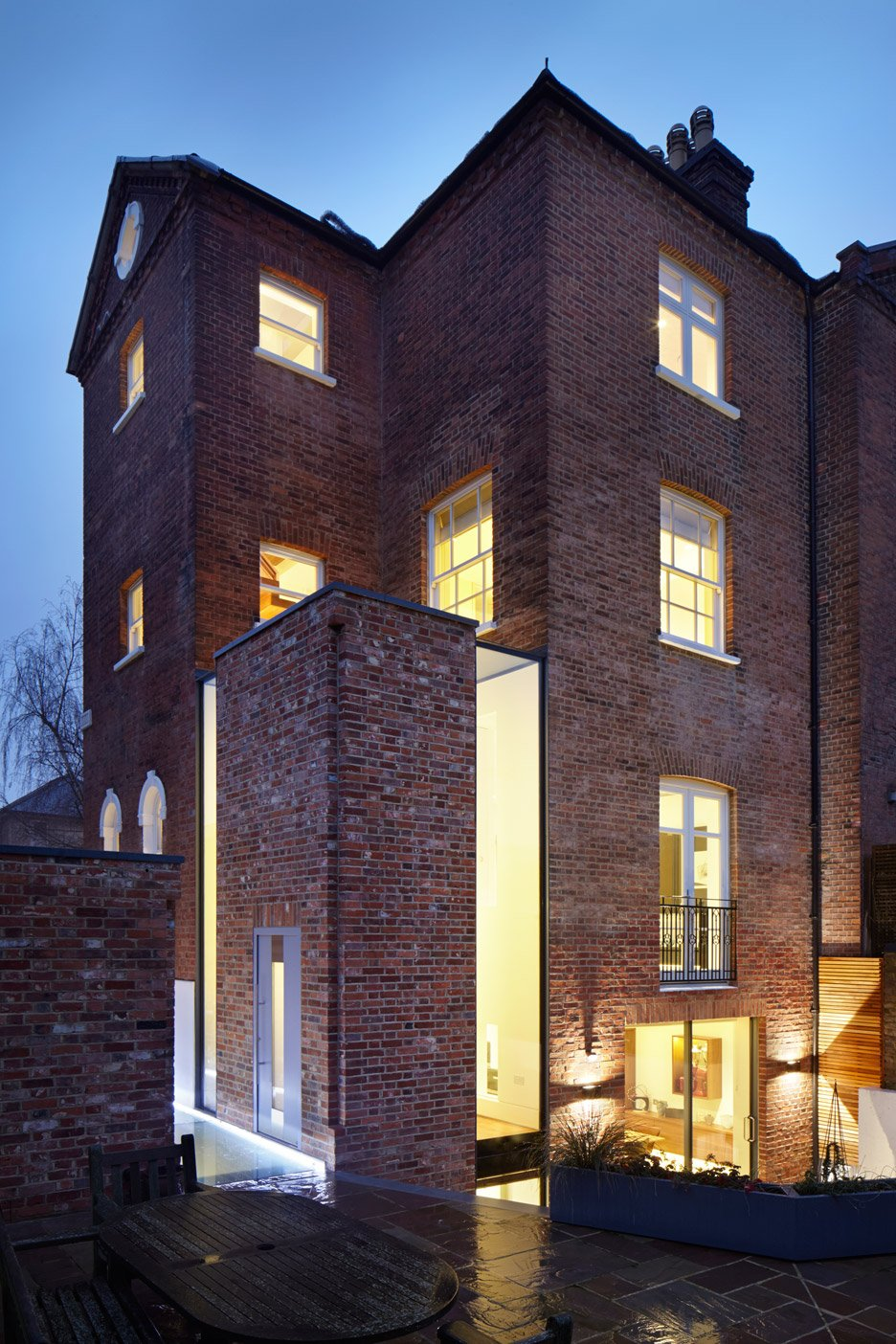 The Lantern by Fraher Architects Ltd. Photograph by Jack Hobhouse