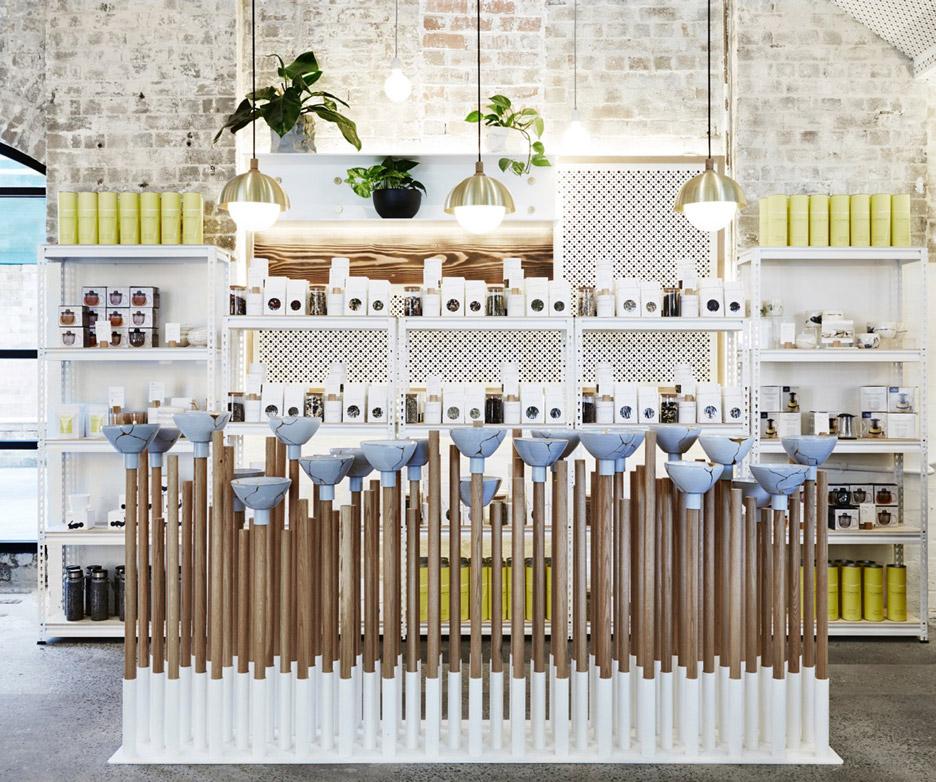 The Rabbit Hole Organic Tea Bar by Matt Woods
