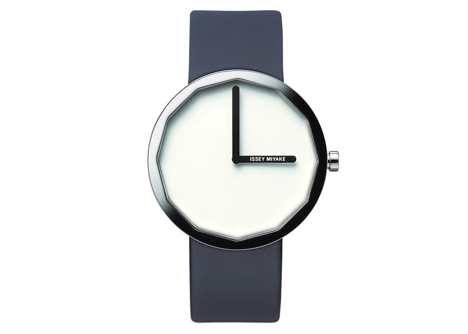 The Twelve watch, designed by Naoto Fukasawa for Issey Miyake