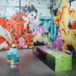 Tobias Rehberger installs pixellated porn at Art Basel Miami Beach