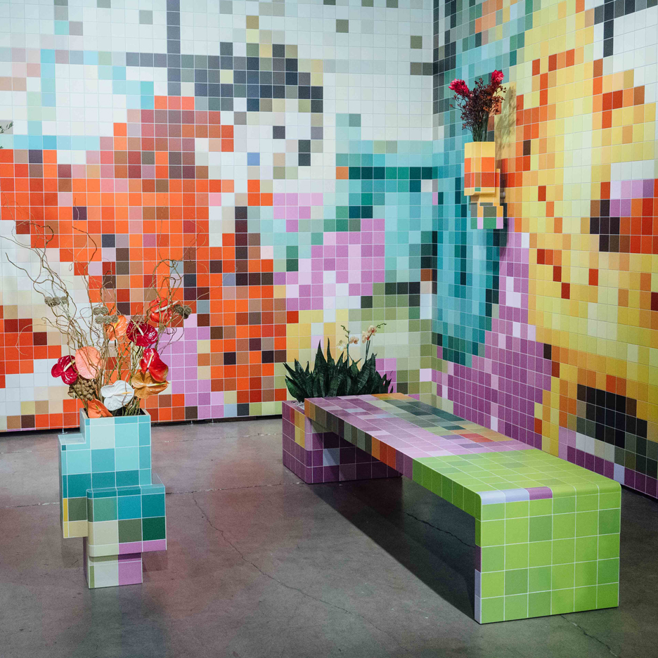 Tobias Rehberger installs pixelated porn at Art Basel Miami Beach