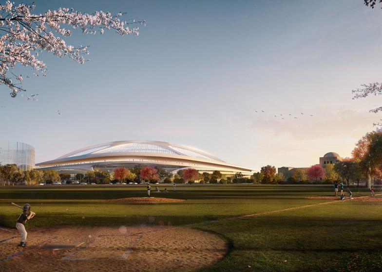 Zaha Hadid teams up with Nikken Sekkei to submit new bid for Tokyo 2020 stadium