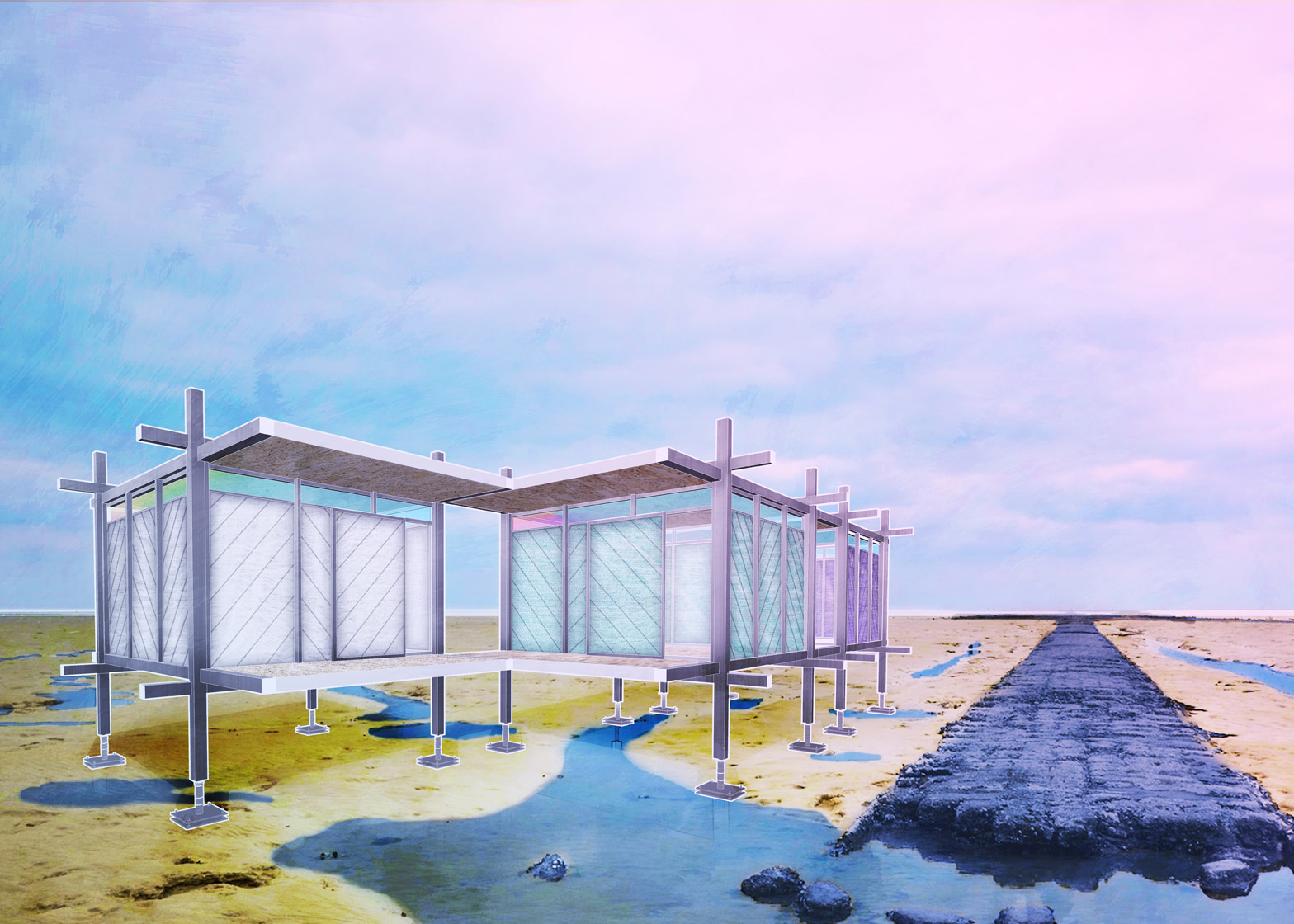 Prefabricated housing by Tom Dixon