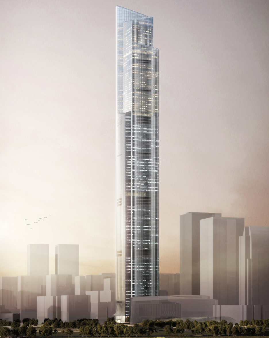 Guangzhou CTF Finance Center by Kohn Pedersen Fox Associates