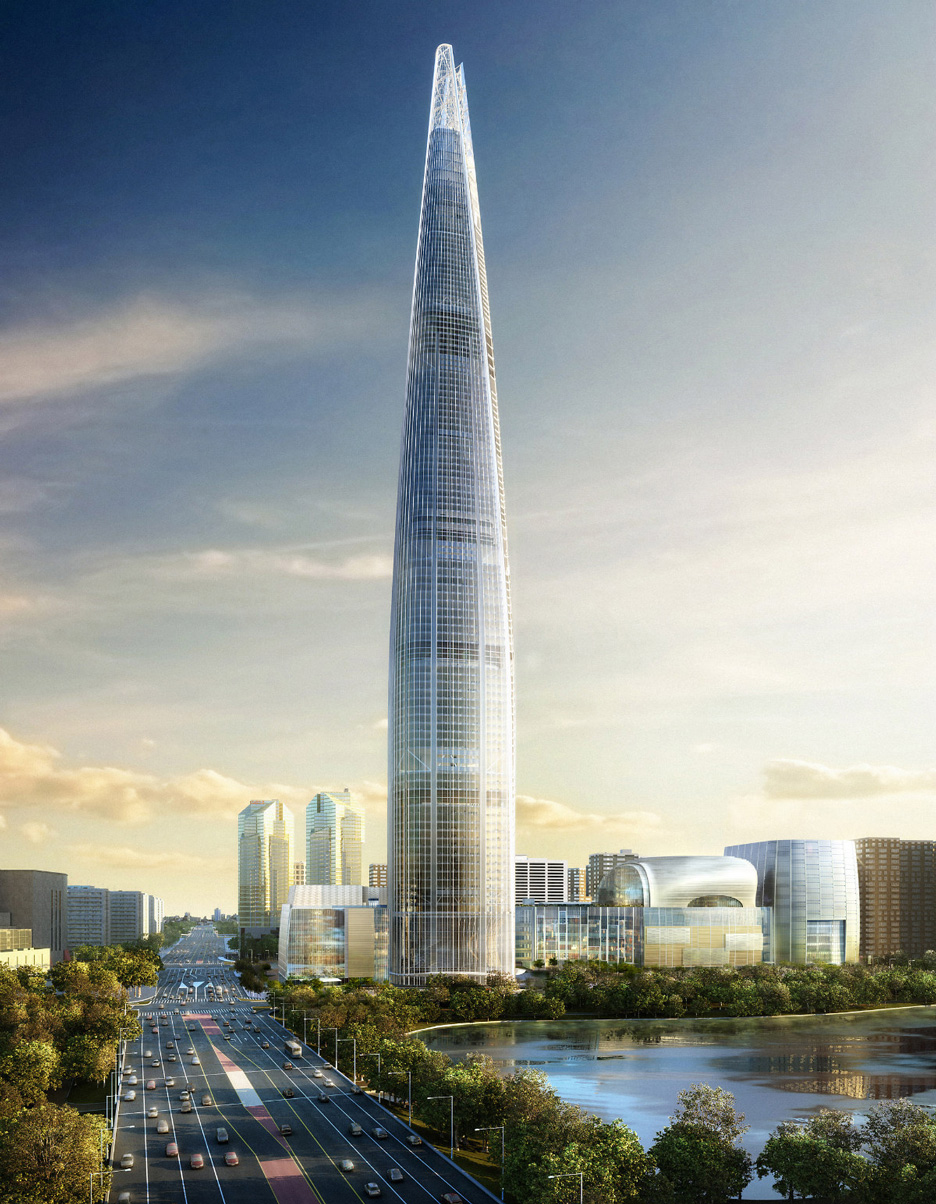 Lotte World Tower, Korea, by Kohn Pedersen Fox Associates