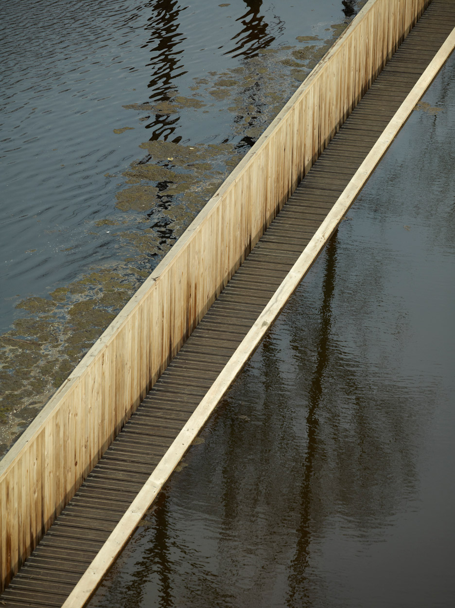 Trench bridge by ROAD