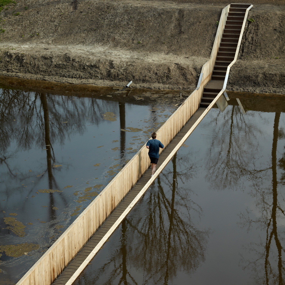 Dezeen's A-Zdvent calendar: Trench Bridge by RO&AD
