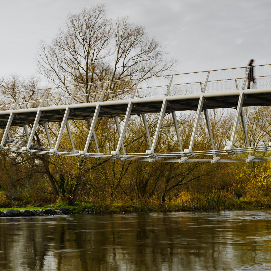 Dezeen's A-Zdvent calendar: University of Limerick Living Bridge by Wilkinson Eyre
