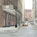 Four designs aim to improve sidewalk sheds around New York construction sites