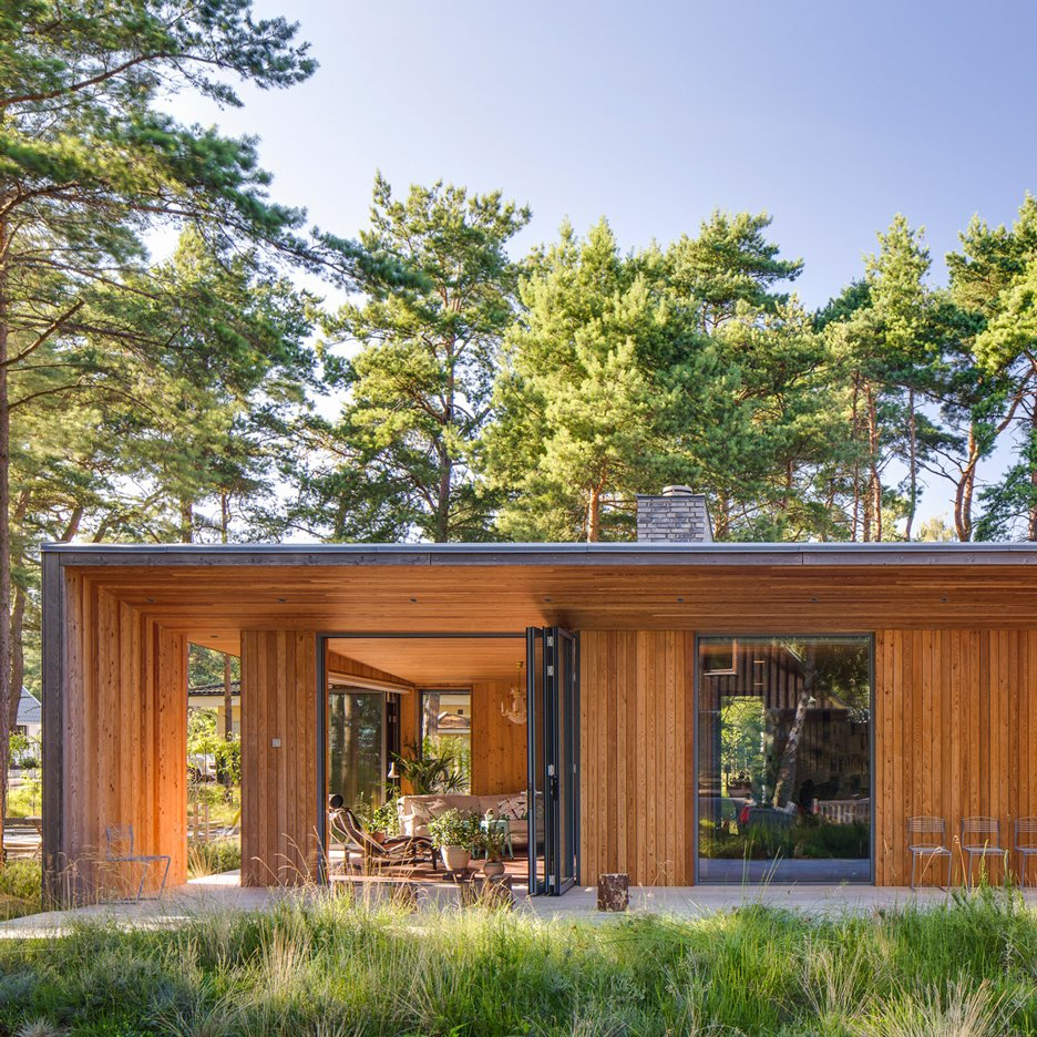 Villa Ljung house in Sweden by Johan Sundberg