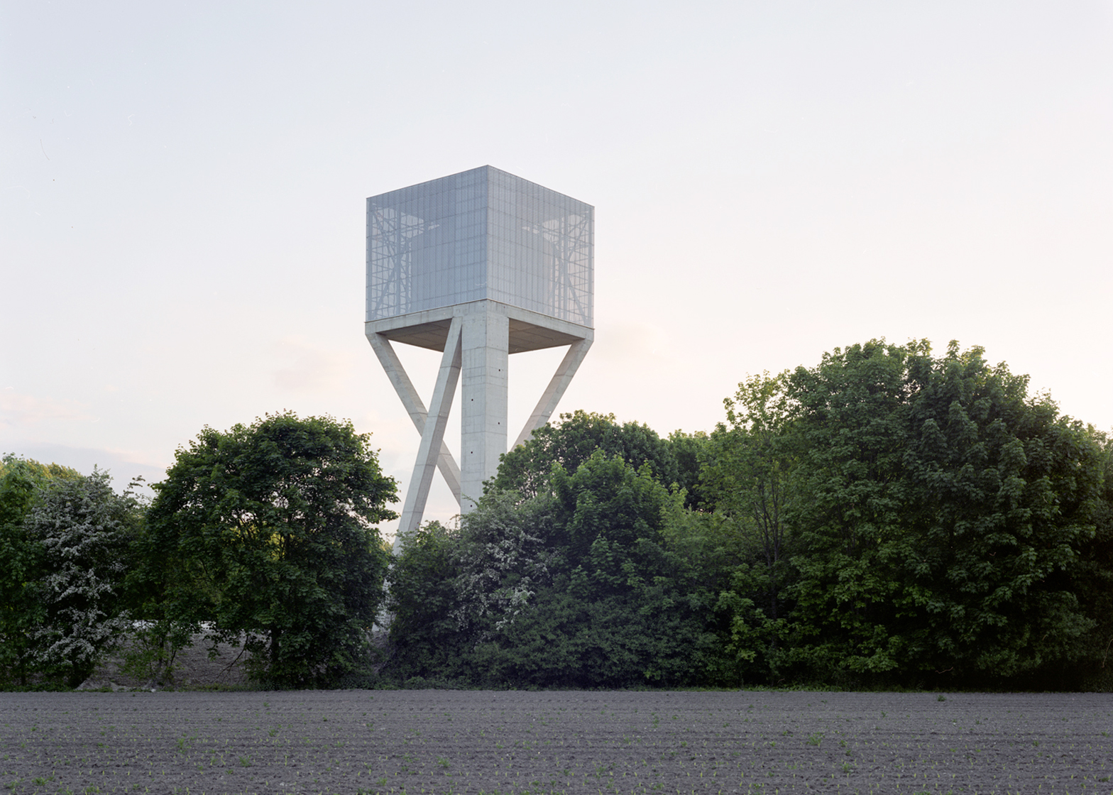 V+'s Chateau D'eau water tower