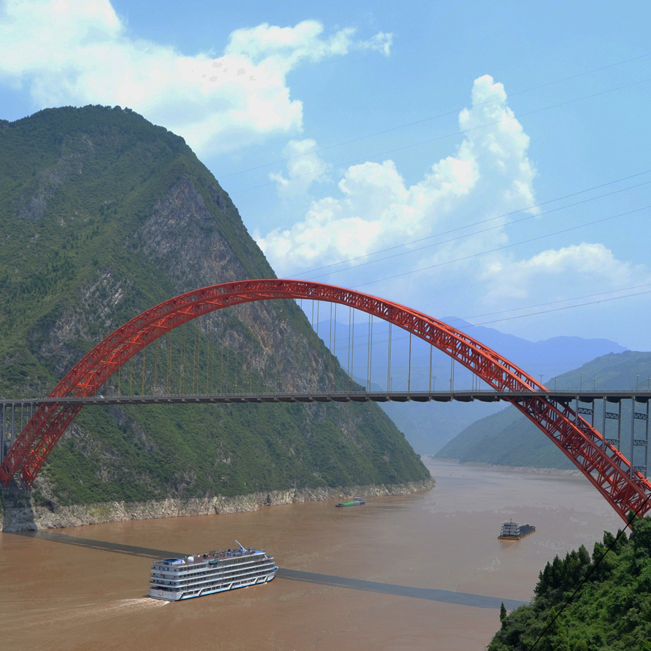 Dezeen's A-Zdvent calendar: Yangtze River Bridge