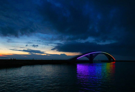 Xiying Rainbow Bridge in Penghu