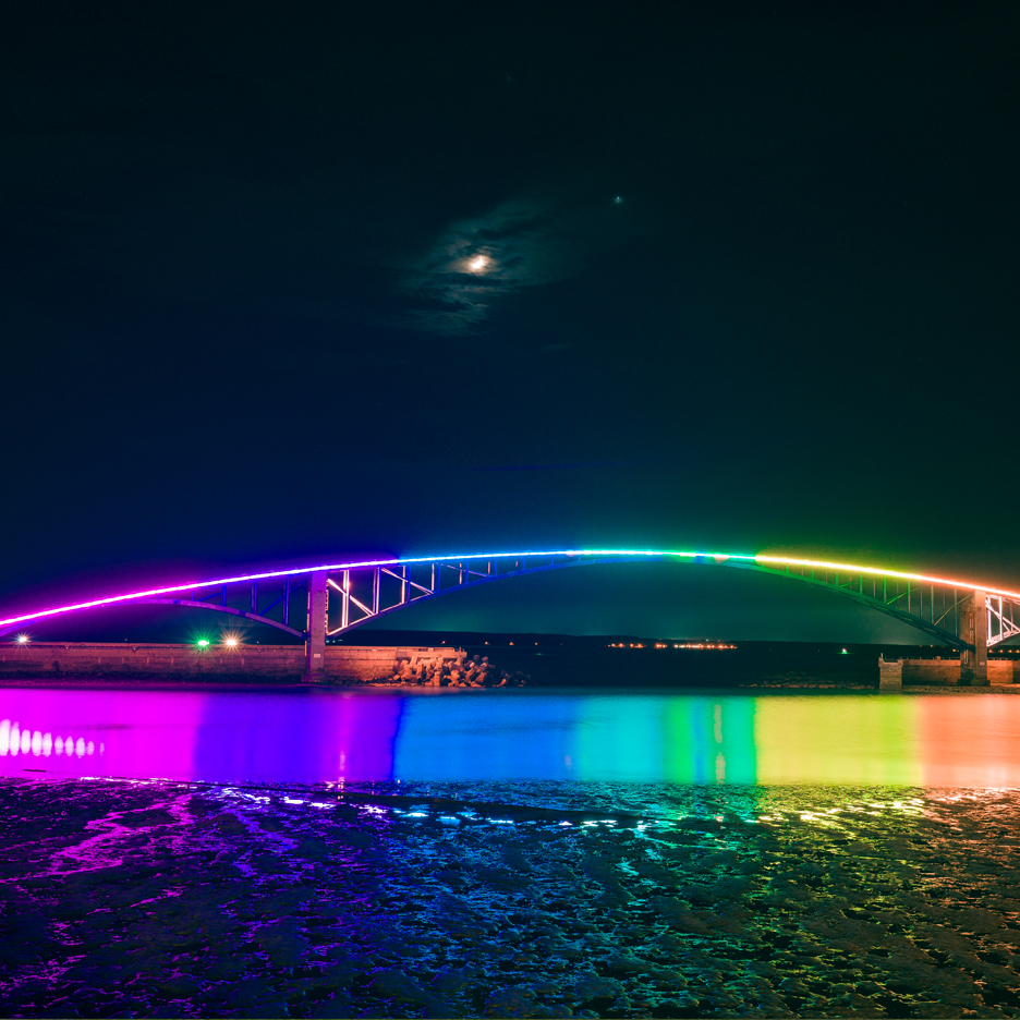 Dezeen's A-Zdvent calendar: Xiying Rainbow Bridge