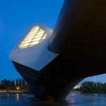 Dezeen's A-Zdvent calendar: Zaragoza Bridge Pavilion by Zaha Hadid