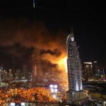 Huge fire breaks out at Atkins-designed Dubai skyscraper