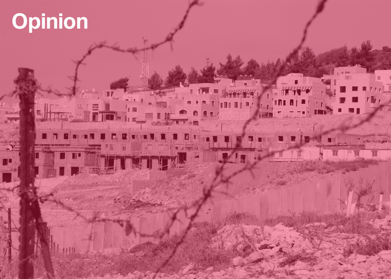 Israel/Palestine conflict of the family home mundane architecture opinion by Eleanor Jolliffe